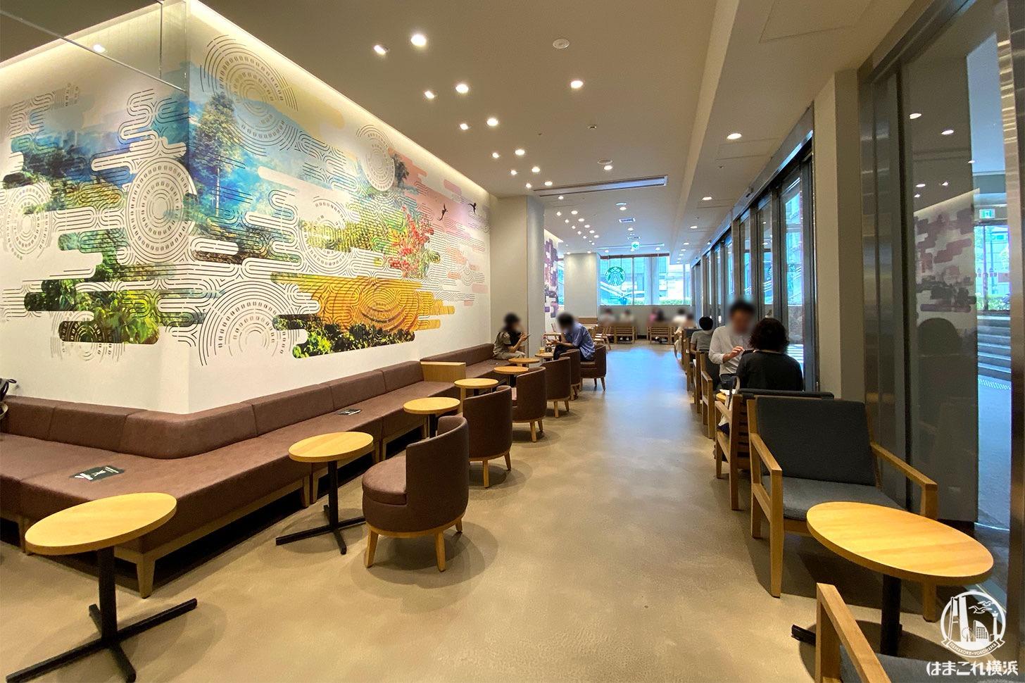 スターバックスコーヒー 横浜ランドマークプラザ店 店内雰囲気