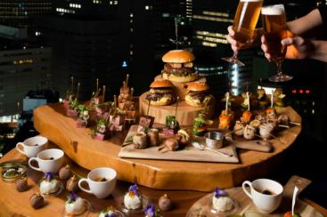 横浜ベイシェラトンで夜景と美食の「ビアフェスタ」開催!フォアグラのサンドや串料理
