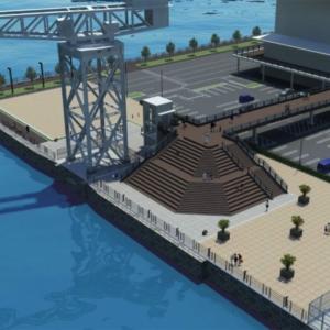 横浜市、ハンマーヘッドパークとハンマーヘッドデッキをオープン!