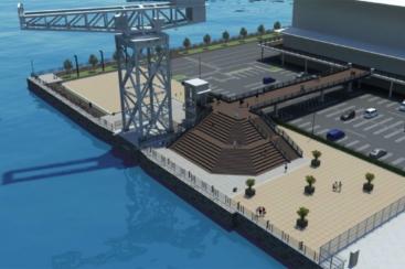 横浜市、ハンマーヘッドパークとハンマーヘッドデッキがオープン!