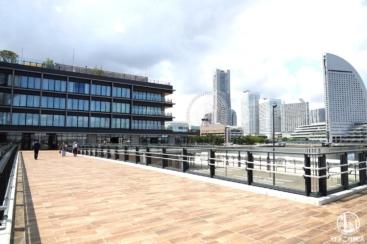 横浜ハンマーヘッドのパークとデッキ新設レポ!みなとみらいの眺望広がる憩いの場