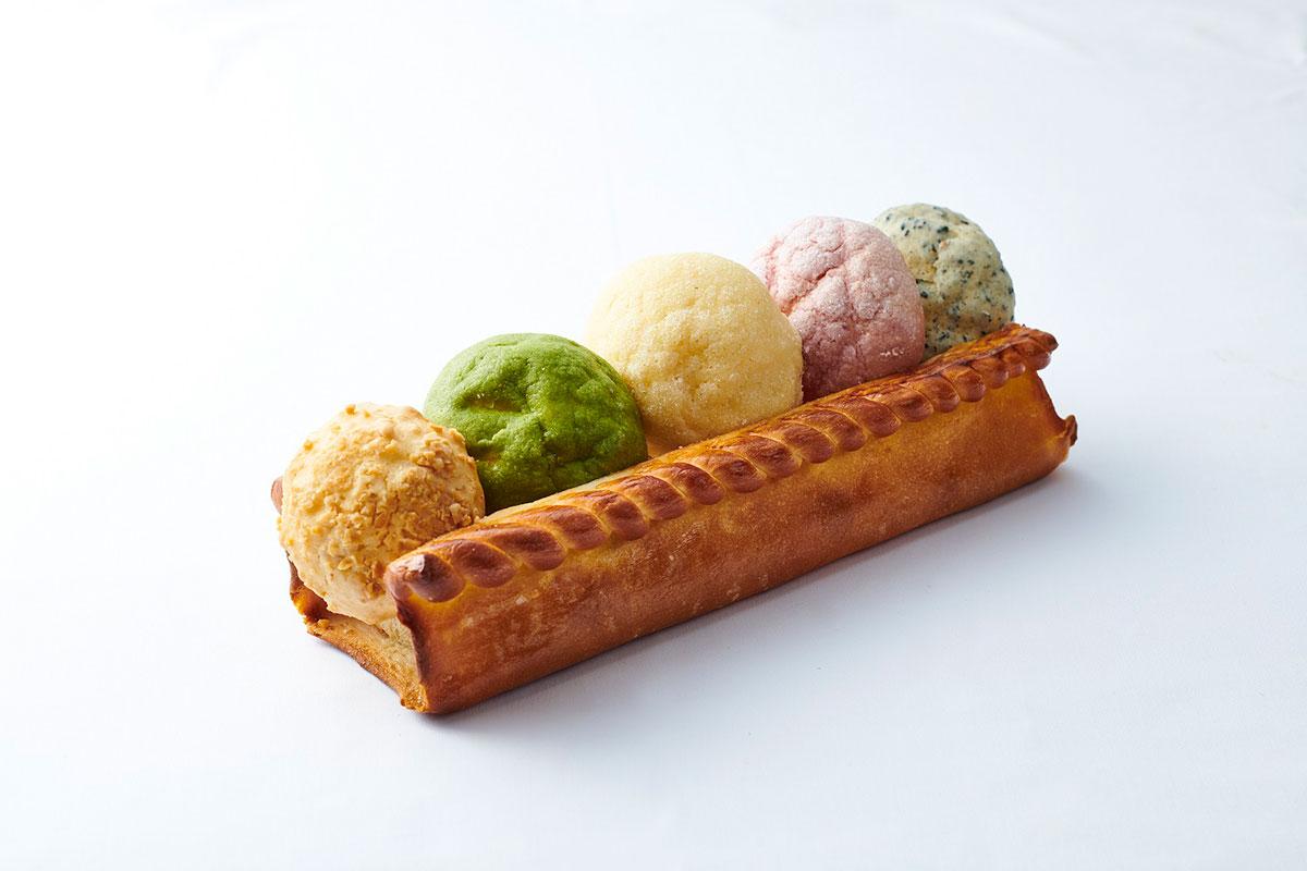 横浜ロイヤルパークホテル、5種類の味が楽しめる「メロンパンアソート」を販売