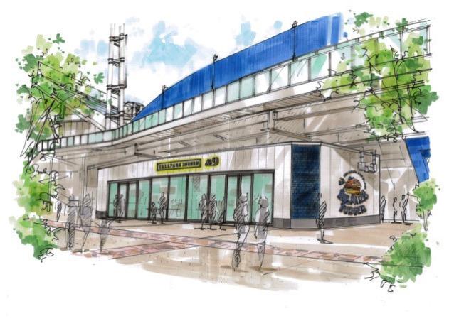 ハンバーガー専門店「ボールパークバーガー・アンドナイン」横浜公園内に9月29日オープン決定!