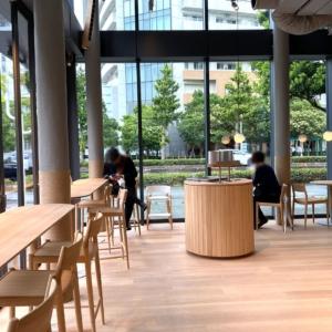 ブルーボトルコーヒーみなとみらいカフェ初利用!軽食やテラス席、窓からの景色も魅力
