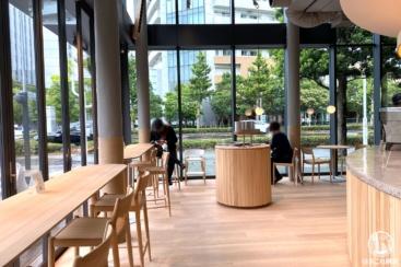 ブルーボトルコーヒーみなとみらいカフェ体験レポ!軽食やテラス席、窓からの景色も魅力