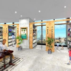 有隣堂ブックカフェやワークマンプラス、横浜・コレットマーレに10月オープン!桜木町駅前施設