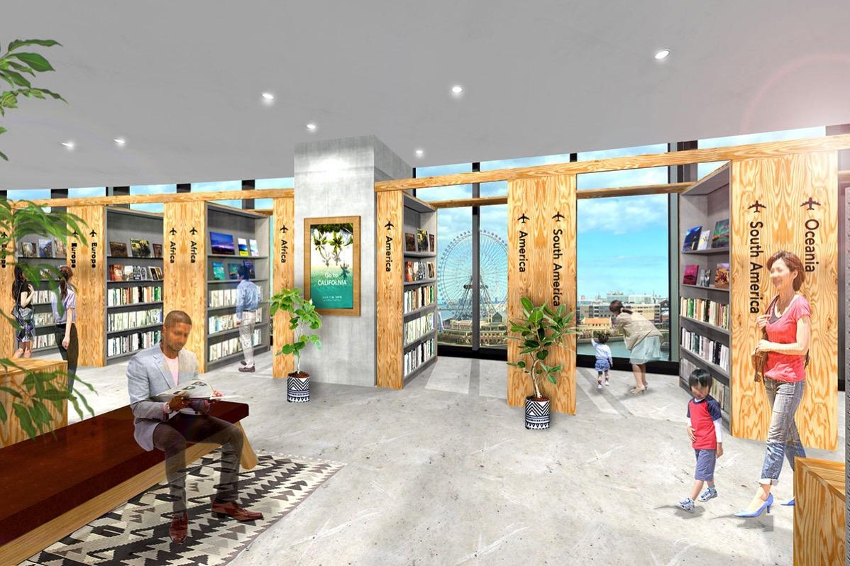 有隣堂ブックカフェやワークマンプラスがコレットマーレに10月オープン!横浜・桜木町駅前