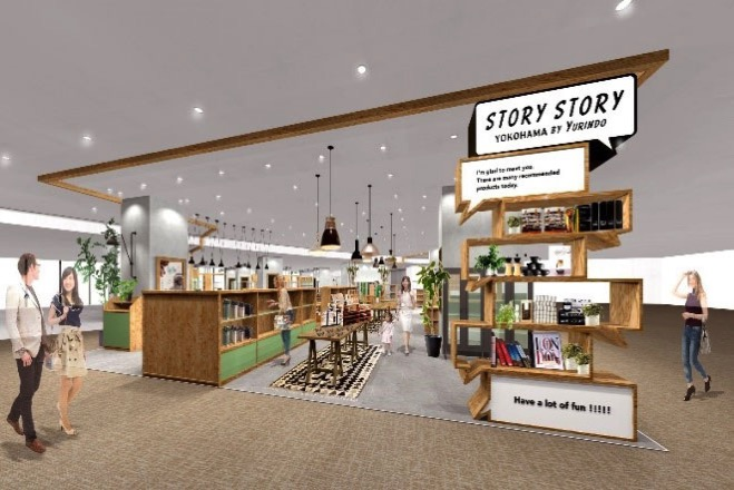 STORY STORY YOKOHAMA 書店店内