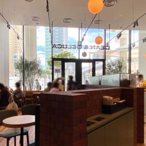 ディーンアンドデルーカカフェが桜木町駅チカで朝も便利!パンやケーキ提供・店内ゆったり