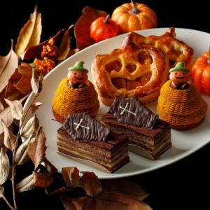ホテルニューグランド、パンプキンパイやかぼちゃのモンブランなどハロウィンスイーツ販売