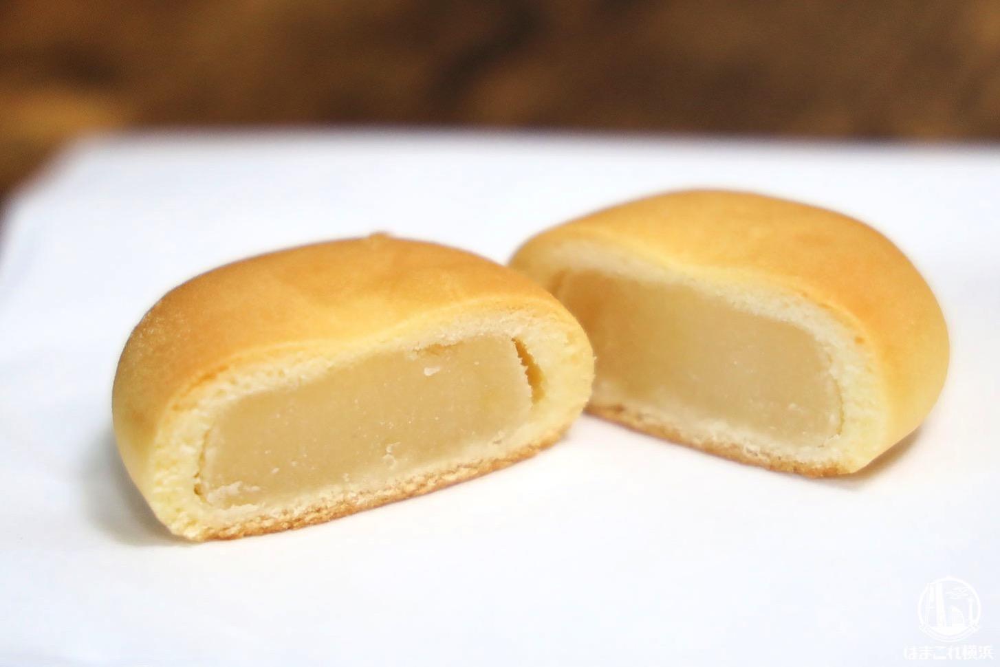 横濱ハーバー「幻の浜なし」梨のピューレを使用した餡