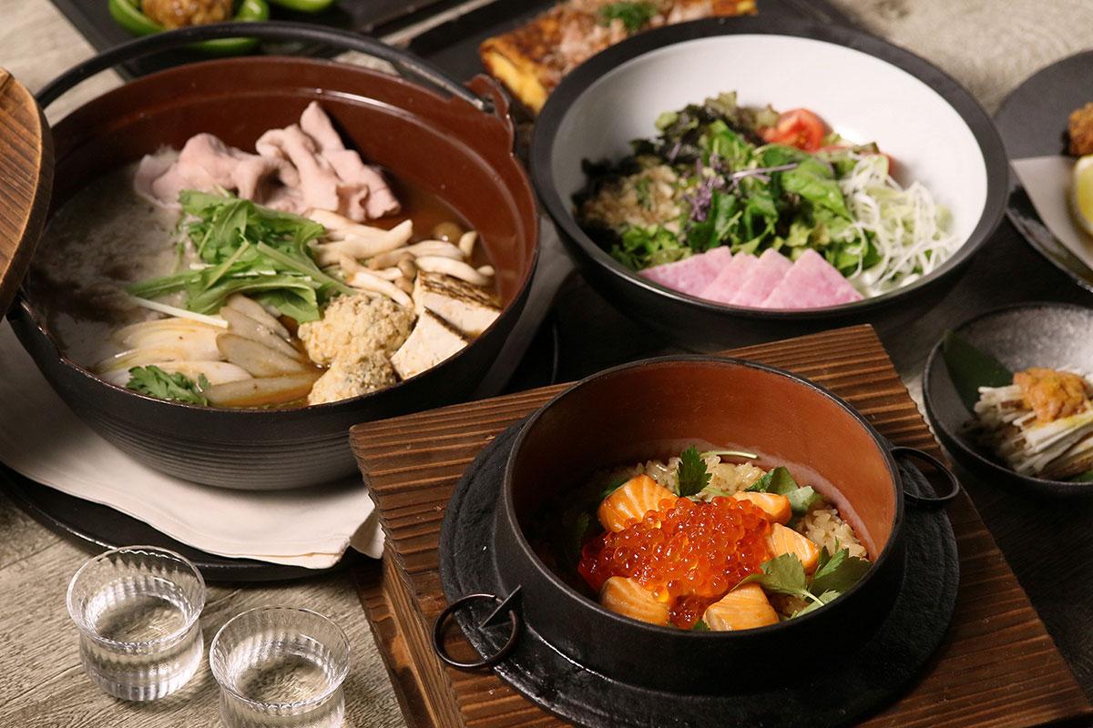 自然薯・とろろ料理専門店「黒十 横浜」夜のお品書き新たに、自然薯の素材本来の味わい提供