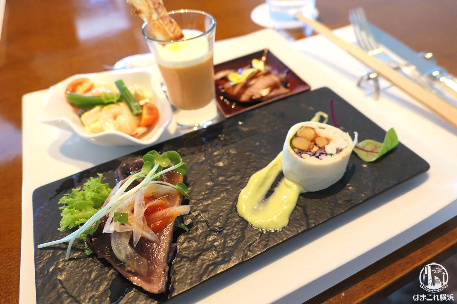 横浜ロイヤルパークホテル「シリウスランチ」のオーダーブッフェ快適で楽しめた!