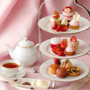 横浜・ホテルニューグランド「苺のアフタヌーンティーセット」12月よりスタート!