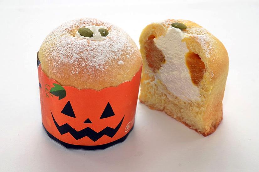 ポンパドウル「かぼちゃホイップあんぱん」