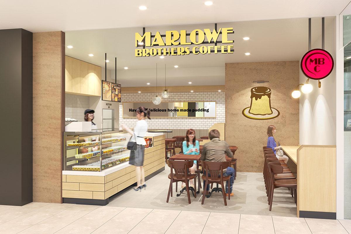 マーロウブラザーズコーヒーそごう横浜店で人気プリンや限定コーヒーなど提供!