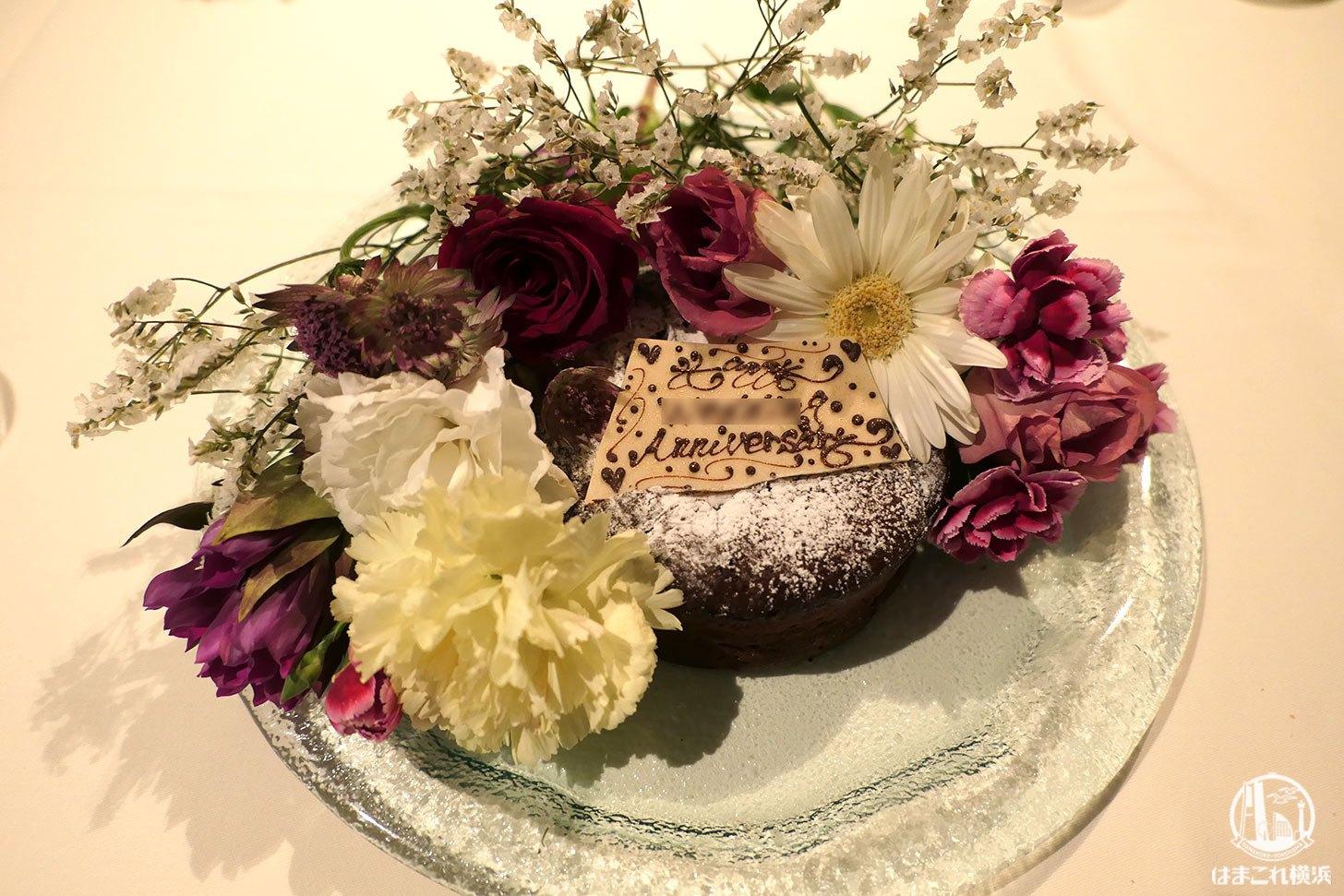 ガトーショコラのホールケーキ