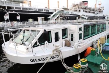 水上バス「シーバスゼロ」横浜港見学会実施!臨海部の新名所をガイド付きで