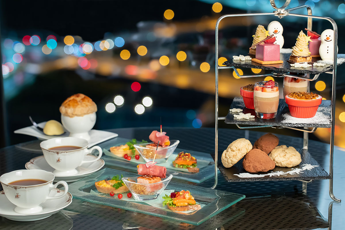 新横浜プリンスホテルで夜景×クリスマスアフタヌーンティーが開催!