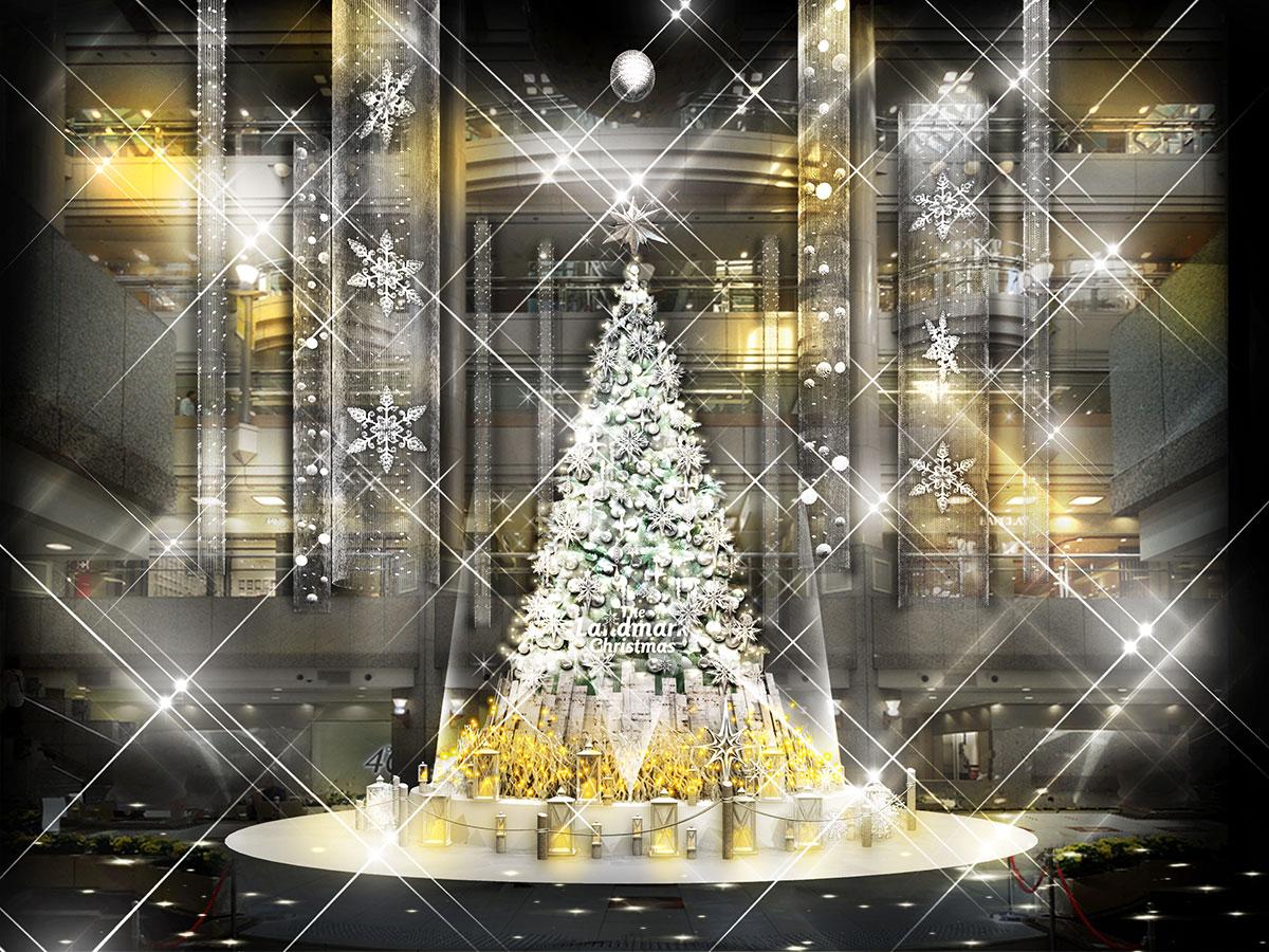 2020年 ランドマークプラザ クリスマスツリー