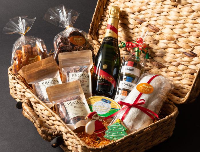 クリスマスハンパーボックス シャンパン付き(11,550円)