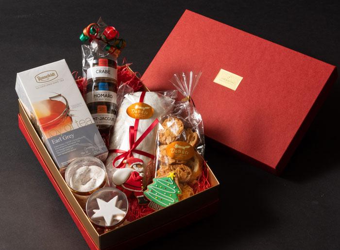 クリスマスハンパーボックス 紅茶付き(7,560円)