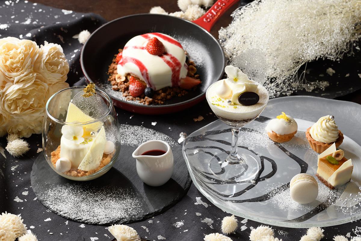 アニヴェルセルカフェ みなとみらい横浜で冬限定デザートやドリンク販売!
