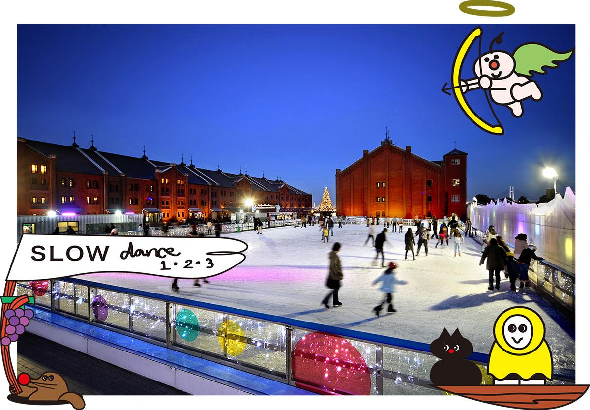 アートリンクin横浜赤レンガ倉庫の開催決定!アートとアイススケートのコラボ