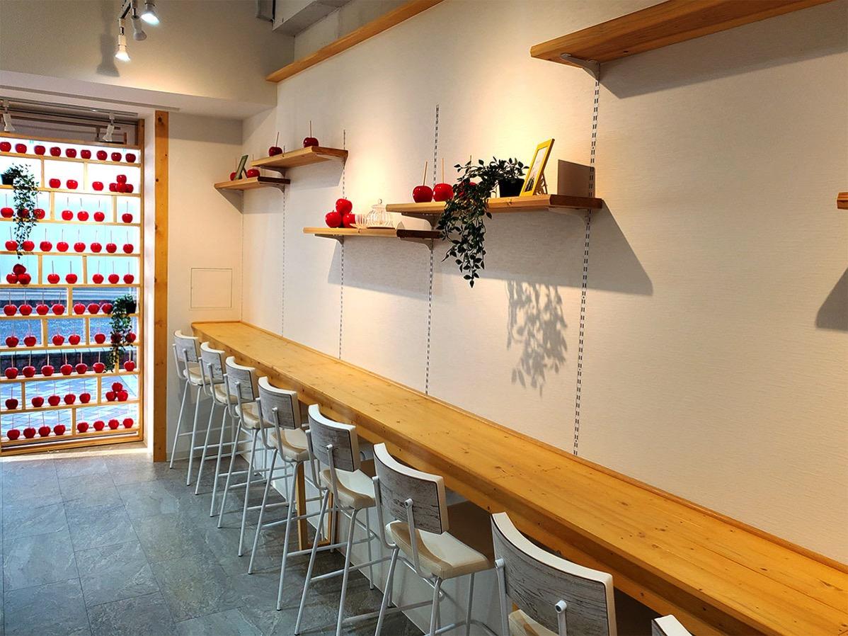 代官山キャンディーアップル横浜店 カフェスペース