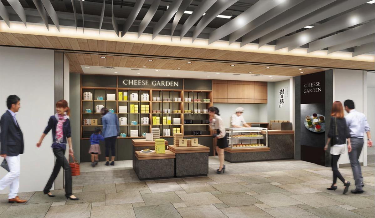 チーズガーデン、横浜高島屋に神奈川初の常設店!しらさぎバニラに新フレーバー仲間入り