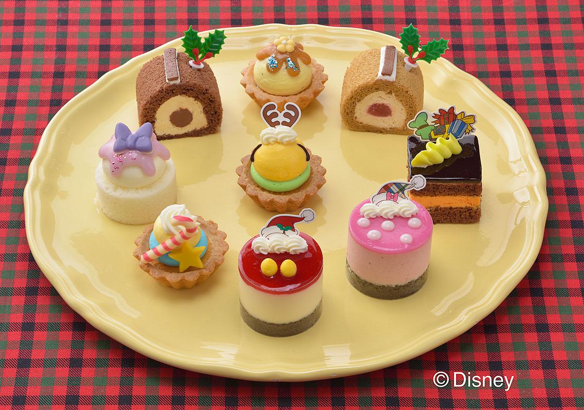 銀座コージーコーナー「ミッキー&フレンズ」のクリスマス限定プチケーキセット発売!