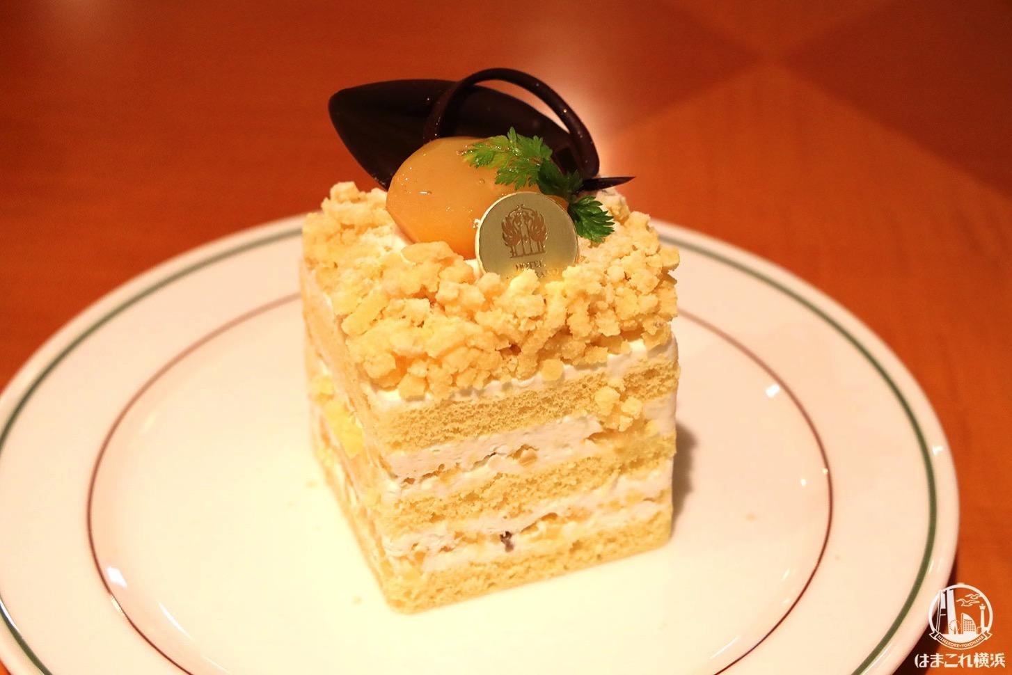 和栗のショートケーキ