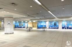 """横浜駅地下2階""""南北連絡通路""""のJR横浜タワー接続口開放!みなとみらい線そば"""