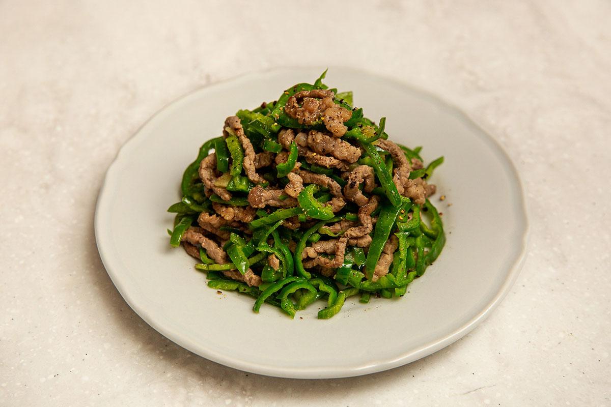 上海式 青椒肉絲