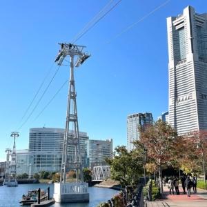 横浜のロープウェイにロープ出現!停留所も徐々にカタチに!