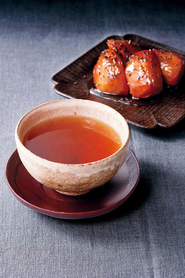 柳櫻園茶舗「香悦」/ おいもやさん興伸「大学芋」
