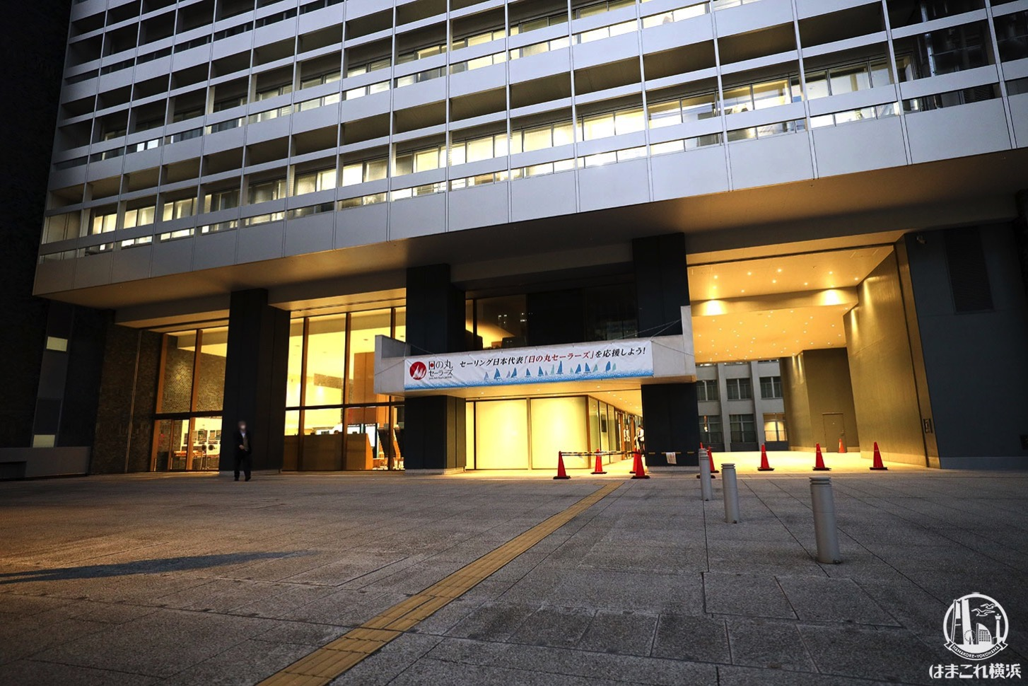 神奈川県庁新庁舎 外観・入口