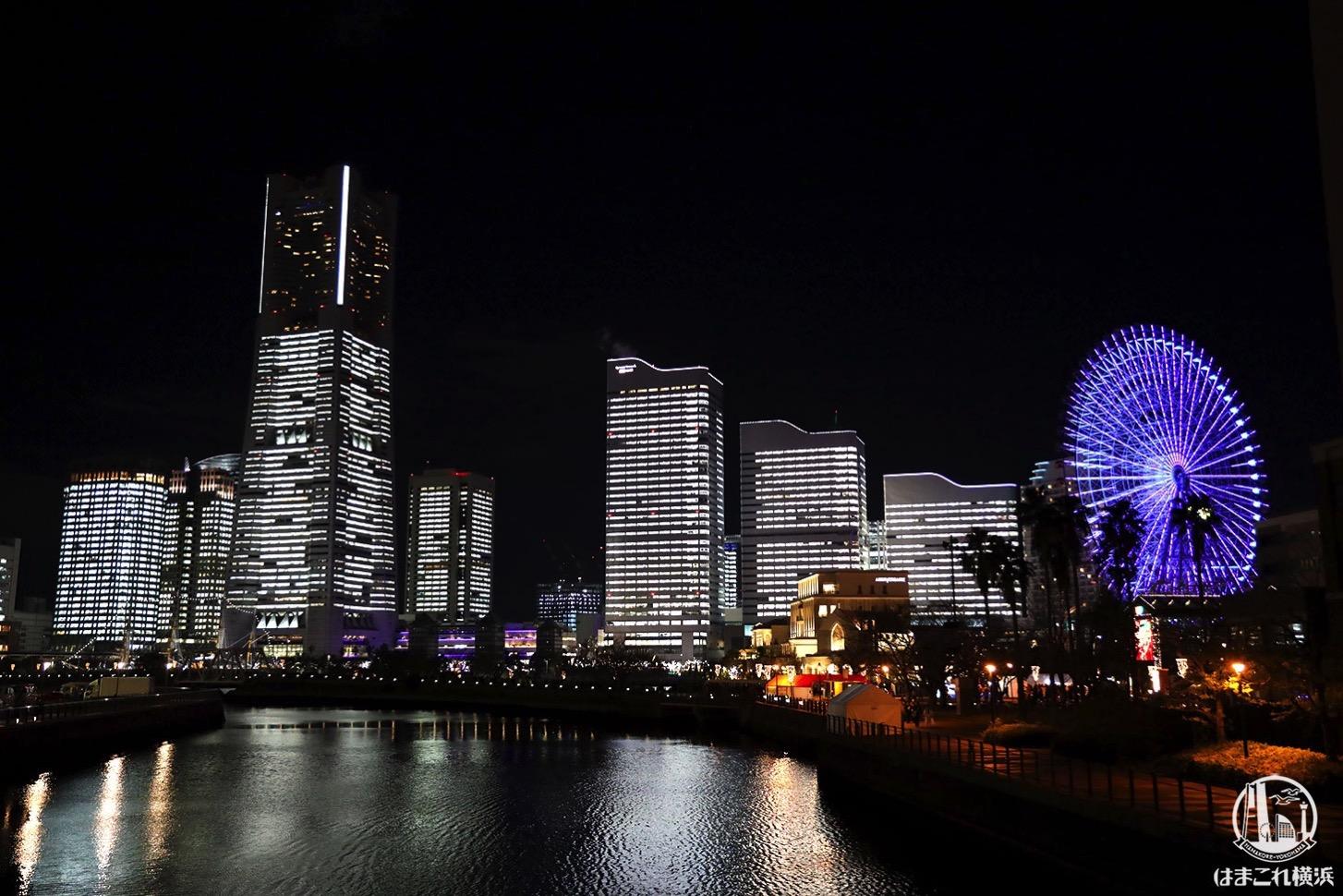 タワーズミライト2020、12月24日開催!横浜みなとみらいのオフィス全館点灯