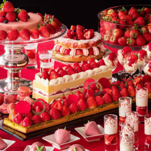横浜ベイホテル東急「いちごジャーニー」フレッシュいちご食べ比べ人気の夜ブッフェ開催!