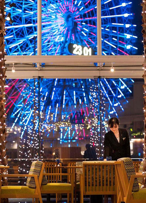 ホワイトクリスマスディナーブッフェ 夜景イメージ