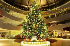 横浜ベイクォーター「クリスマスサーカス」開催!ツリーやメリーゴーランド登場