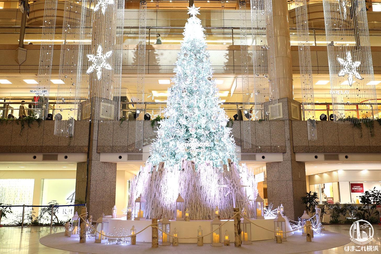 2020年 ランドマークプラザ「クリスマスツリー」