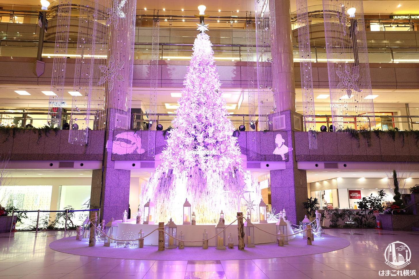 2020年 ランドマークプラザ「クリスマスツリー」ライトアップショー