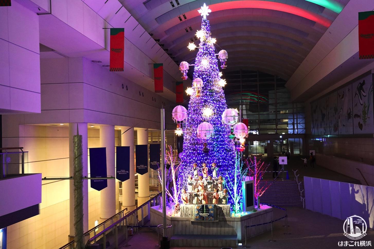 クイーンズスクエア横浜 クリスマスツリー
