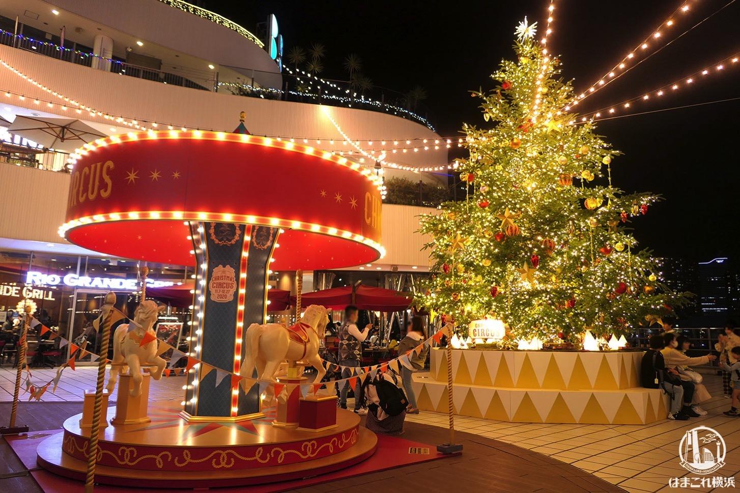 横浜ベイクォーター クリスマスツリー