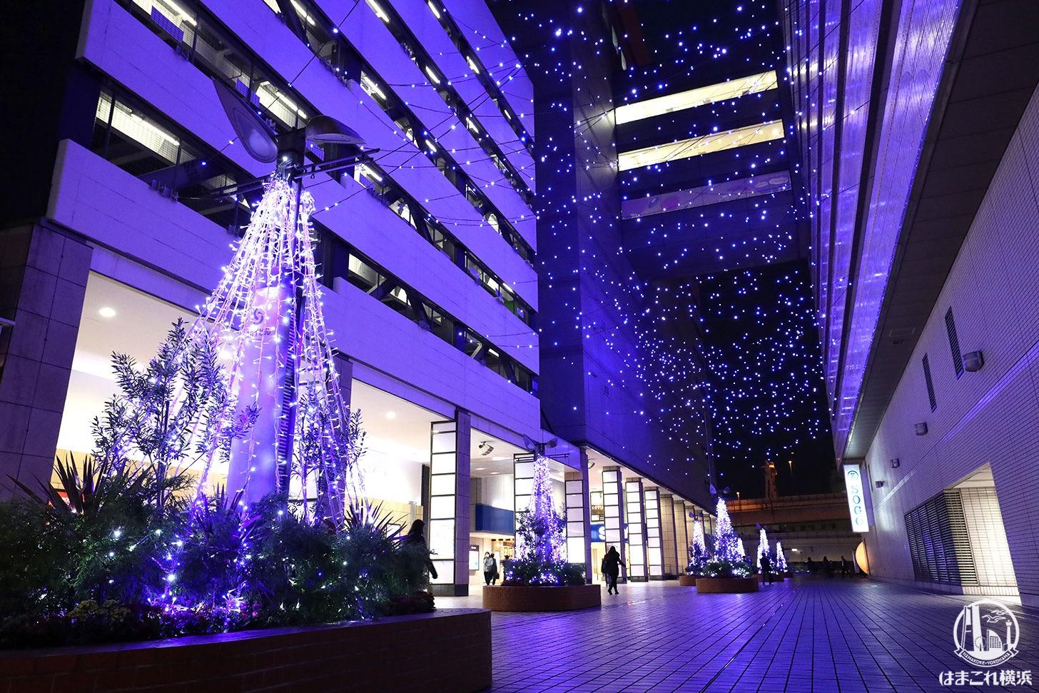 横浜駅「ヨコハマミライト2020」