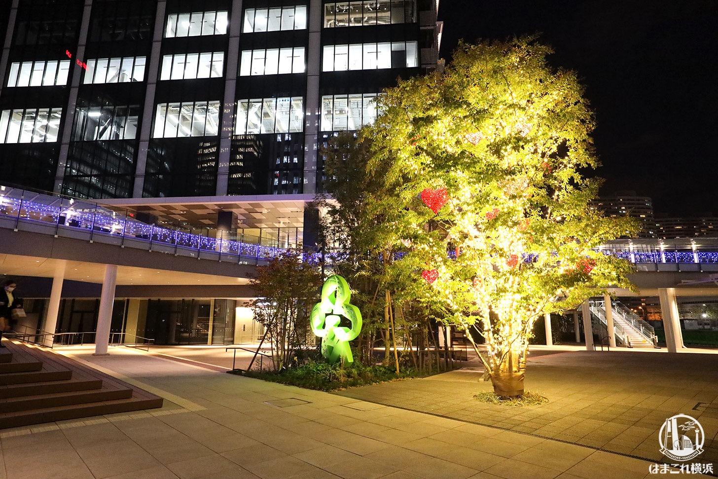 53街区「ヨコハマミライト2020」クリスマスツリー