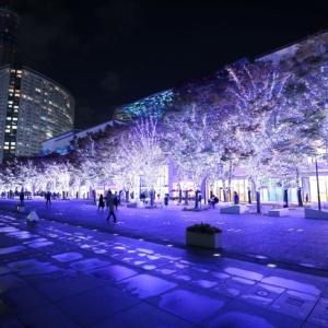 2020年ヨコハマミライト・横浜駅からみなとみらいのドックヤードまでイルミネーション散歩!