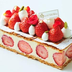 横浜ロイヤルパークホテル「いちごフェア2021」いちごを使ったスイーツとブレッド販売!