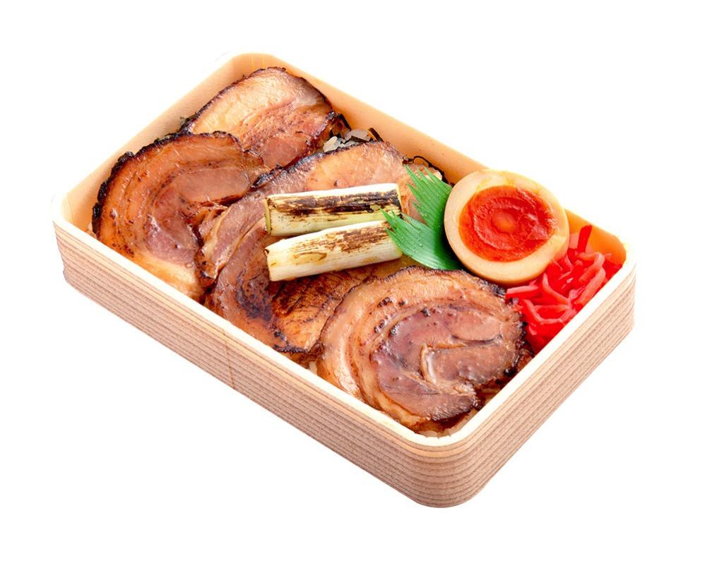 銀の焼豚弁当